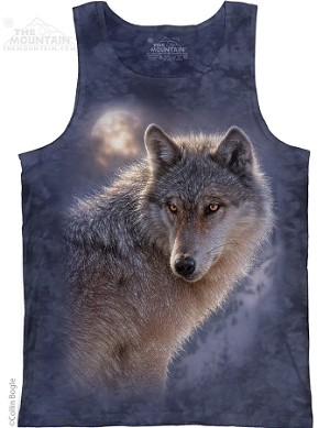 Adventure Wolf - Adult Tank Top