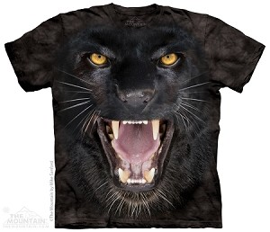 Aggressive Panther - Adult Tshirt