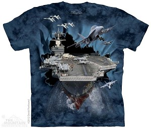 Aircraft Carrier Breakthru - Adult Tshirt