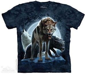 Bad Moon Wolves - Adult Tshirt
