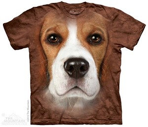 Beagle Big Face - 10-3330 - Adult Tshirt