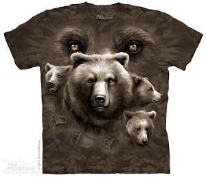 Bear Eyes - Adult Tshirt
