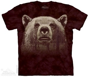 Bear Face Forest - 10-4302 - Adult Tshirt