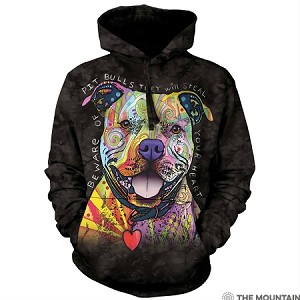 Beware of Pit Bulls...They Will Steal Your Heart - 72-3796 - Adult Hoodie