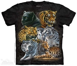 Big Cats - 10-4955 - Adult Tshirt