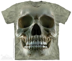 Big Face Skull - 10-3713 - Adult Tshirt
