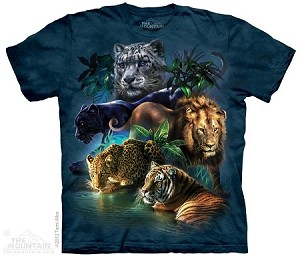 Big Jungle Cats - Youth Tshirt