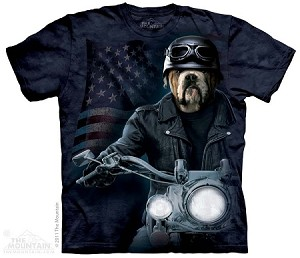 Biker Sam - Adult Tshirt