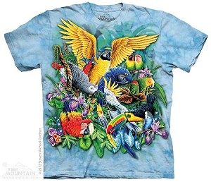 Birds Of The Tropics - Adult Tshirt