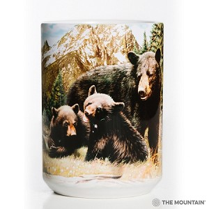 Black Bear Family - 57-5980-0901 - Everyday Mug