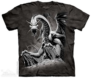 Black Dragon - 10-1252 - Adult Tshirt