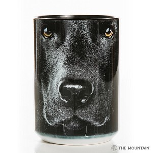 Black Lab Portrait - 57-3255-0900 - Everyday Mug