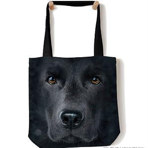 Black Lab Face - 97-3255 - Everyday Tote