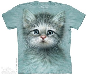 Blue Eyed Kitten - 15-3465 - Youth Tshirt
