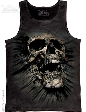 Breakthrough Skull - Adult Tank Top