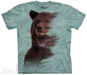 Brown Bear Forest - 10-4293 - Adult Tshirt