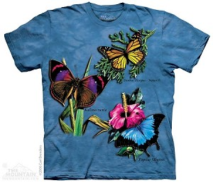 Winged Collage - Adult Tshirt