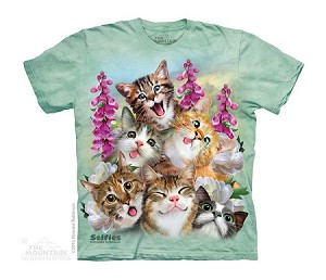 Kittens Selfie - 15-4988 - Youth Tshirt