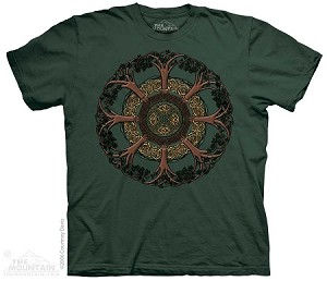 Celtic Tree - Adult Tshirt