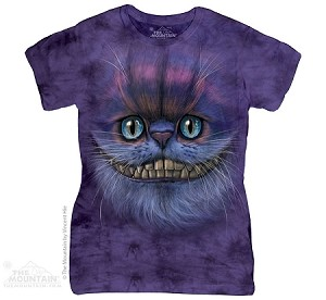 Cheshire Cat - Ladies Fitted Tee