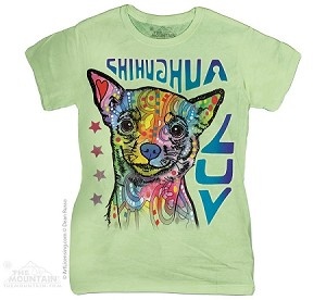 Chihuahua Luv - Ladies Fitted Tee