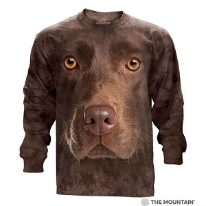 Chocolate Lab - 45-3550 - Adult Long Sleeve T-shirt