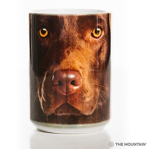 Chocolate Lab Portrait - 57-3550-0901 - Everyday Mug