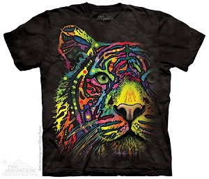 Rainbow Tiger - Adult Tshirt