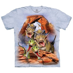 Dino Selfie - 15-5854 - Youth Tshirt