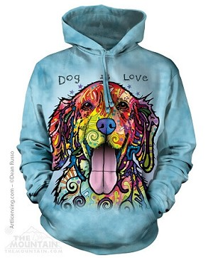 Dog Is Love - 72-4177 - Adult Hoodie