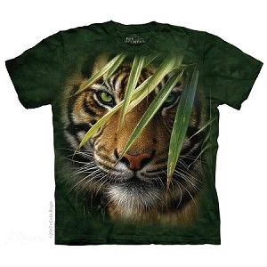 Emerald Forest Tiger - 15-5934 - Youth Tshirt