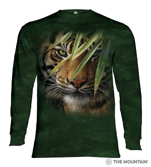 Emerald Forest Tiger - 45-5928 - Adult Long Sleeve T-shirt