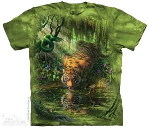 Enchanted Tiger - Adult Tshirt