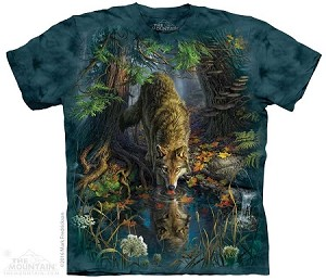 Enchanted Wolf - 10-4866 - Adult Tshirt
