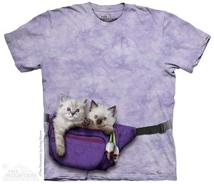 Fanny Pack Kittens - 10-3693 - Adult Tshirt