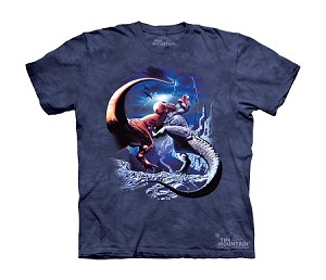 Fighting T-rexes - Youth Tshirt