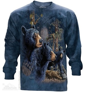 Find 13 Black Bears - Adult Long Sleeve T-shirt