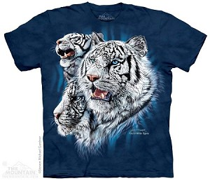 Find 9 White Tigers - Adult Tshirt