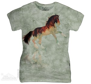 Forest Stallion - Ladies Fitted Tee