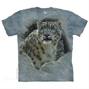 Fortress Snow Leopard - 10-5973 - Adult Tshirt