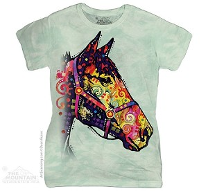 Funky Horse - Ladies Fitted Tee