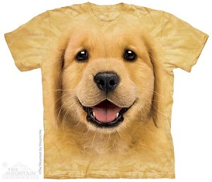Golden Retriever Puppy - Adult Tshirt