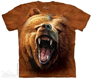 Grizzly Growl - 10-3526 - Adult Tshirt