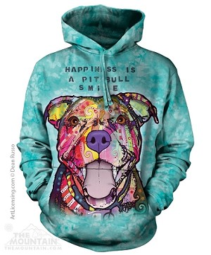 Happiness Is a Pit Bull Smile - Adult Hoodie
