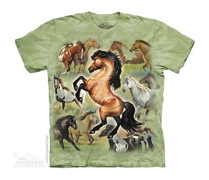 Horse Collage - Youth Tshirt