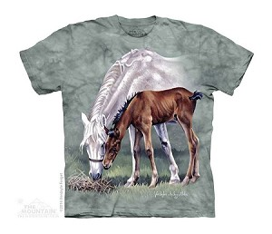Horses In Springtime - Youth Tshirt