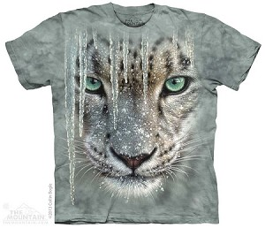Icicle Snow Leopard - Adult Tshirt