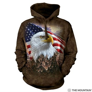 Independence Eagle - 72-4848 - Adult Hoodie