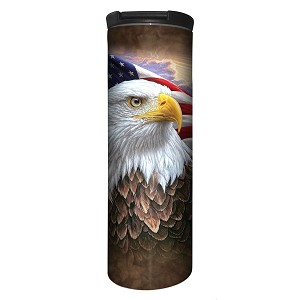 Independence Eagle - 59-4848 - Stainless Steel Barista Travel Mug