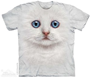 Ivory Kitten Face - Youth Tshirt